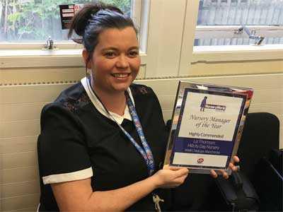 Childcare Nursery Manager Award
