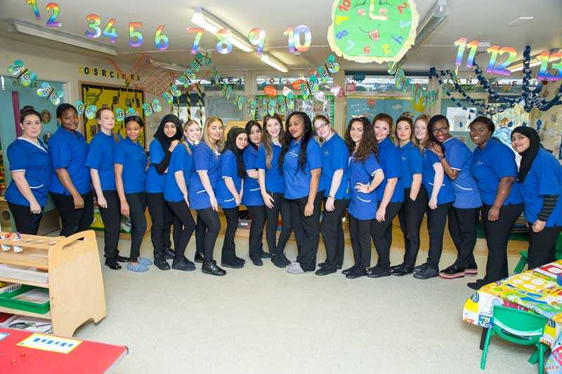 WMB Childcare Staff